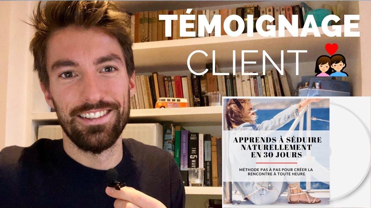 Clément – Formation apprendre à séduire naturellement en 30 jours